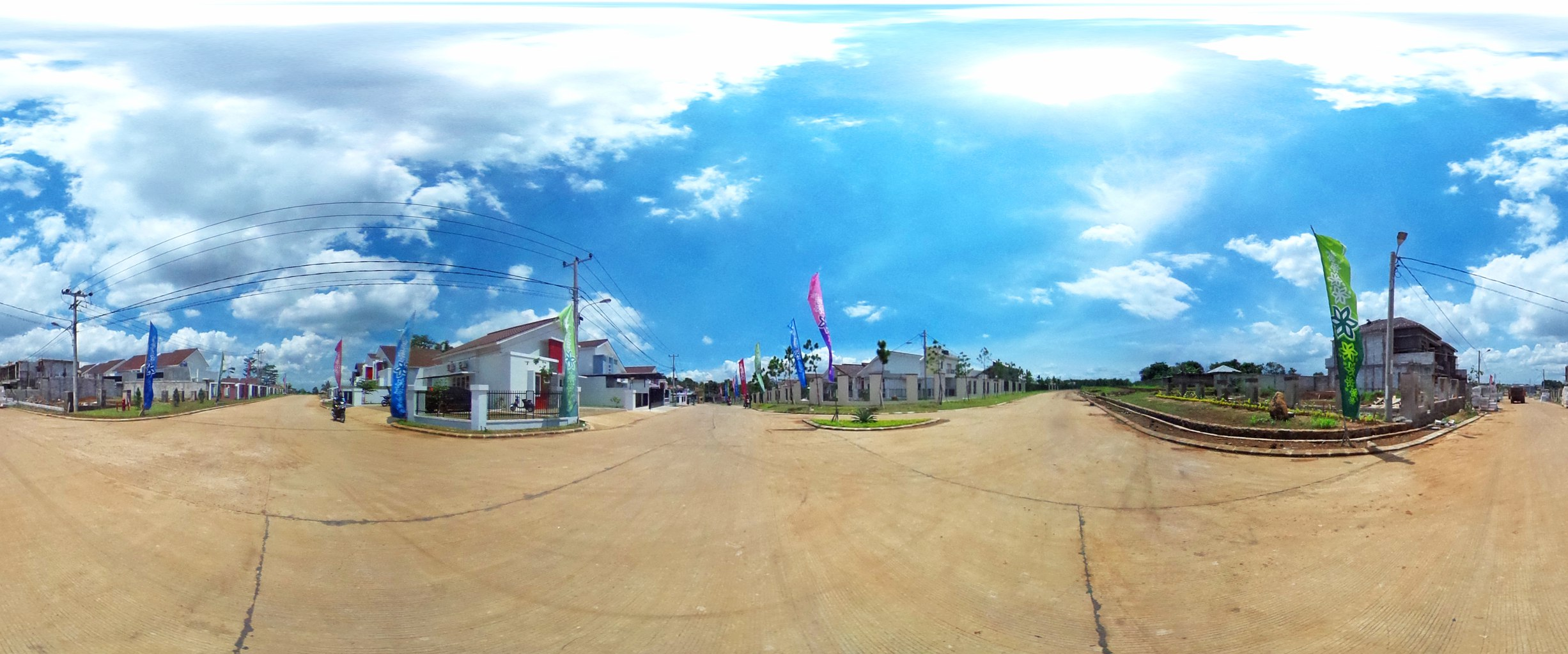 Virtual reality tour photo sphere Nusa Indah Residence 02