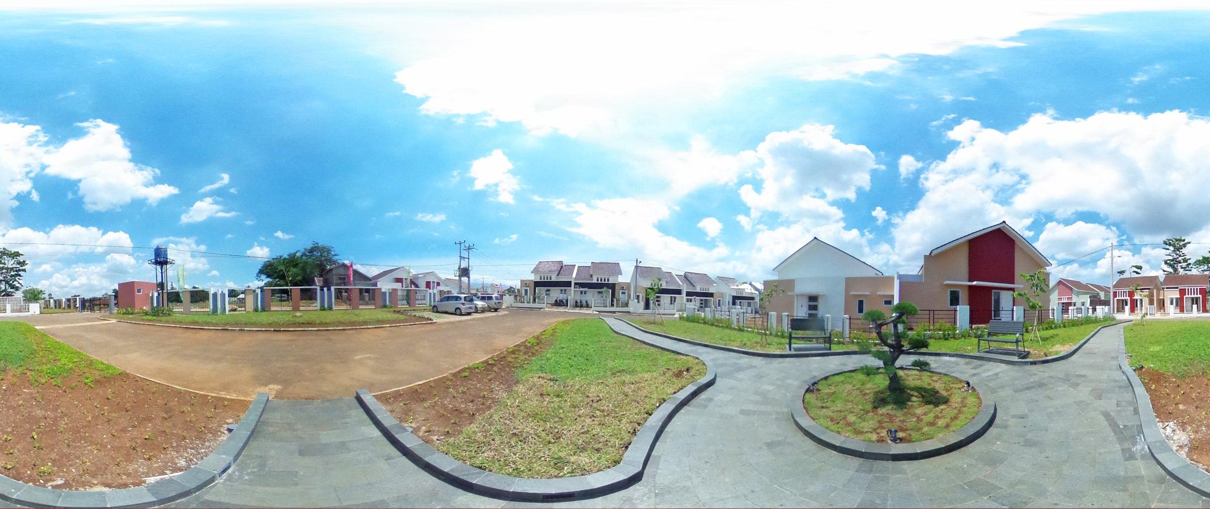 Virtual reality tour photo sphere Nusa Indah Residence 03