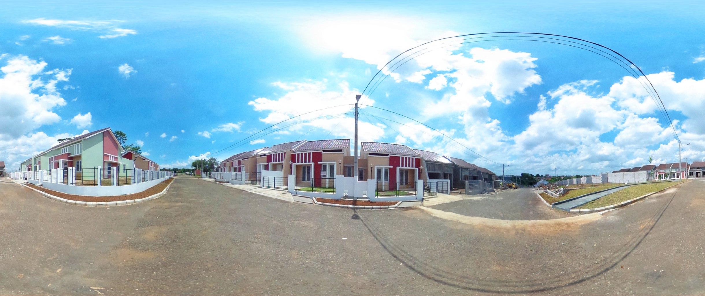 Virtual reality tour photo sphere Nusa Indah Residence 04