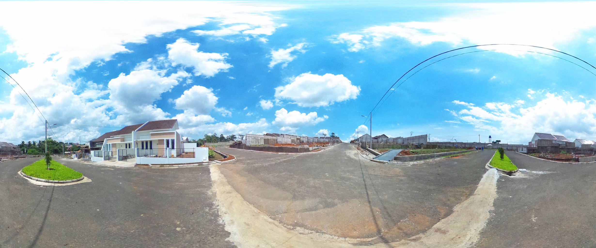 Virtual reality tour photo sphere Nusa Indah Residence 06