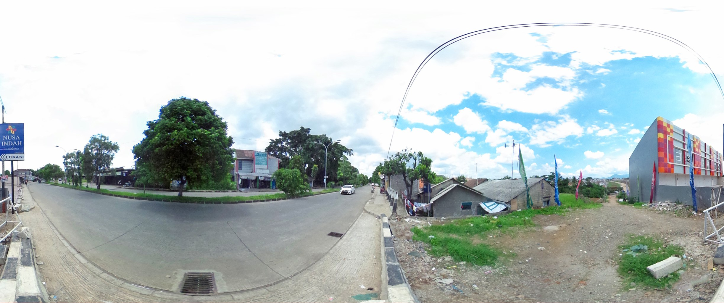Virtual reality tour photo sphere Nusa Indah Residence 08