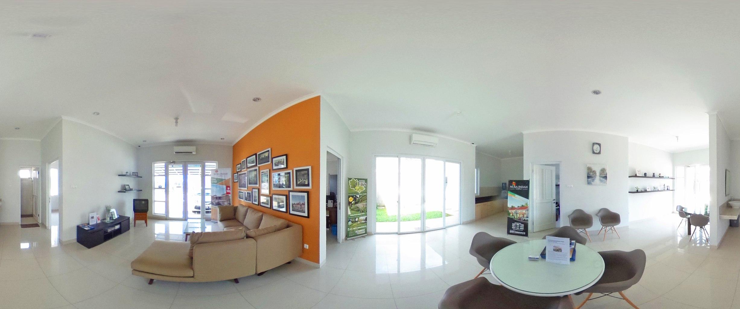 Virtual reality tour photo sphere Nusa Indah Residence 10