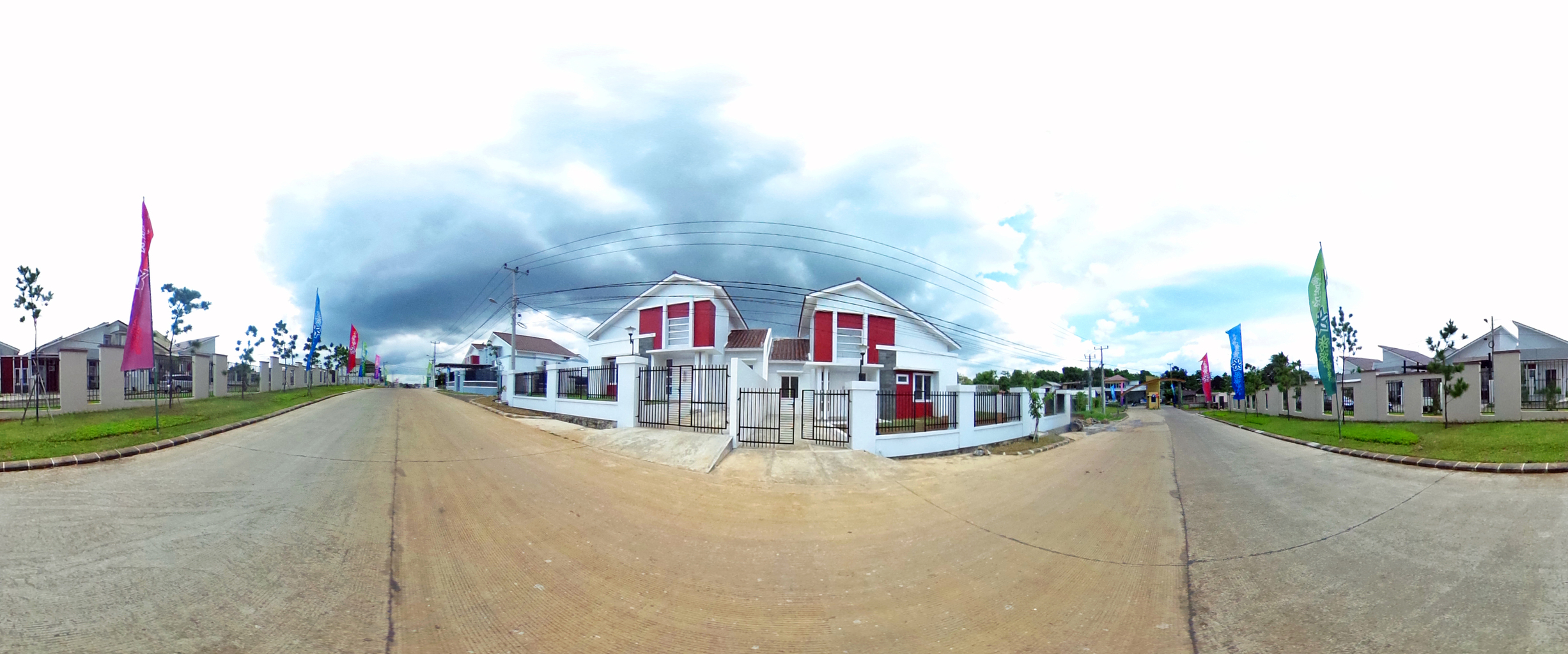 Virtual reality tour photo sphere Nusa Indah Residence 13